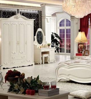 欧式风格卧室套餐 演绎低调奢华